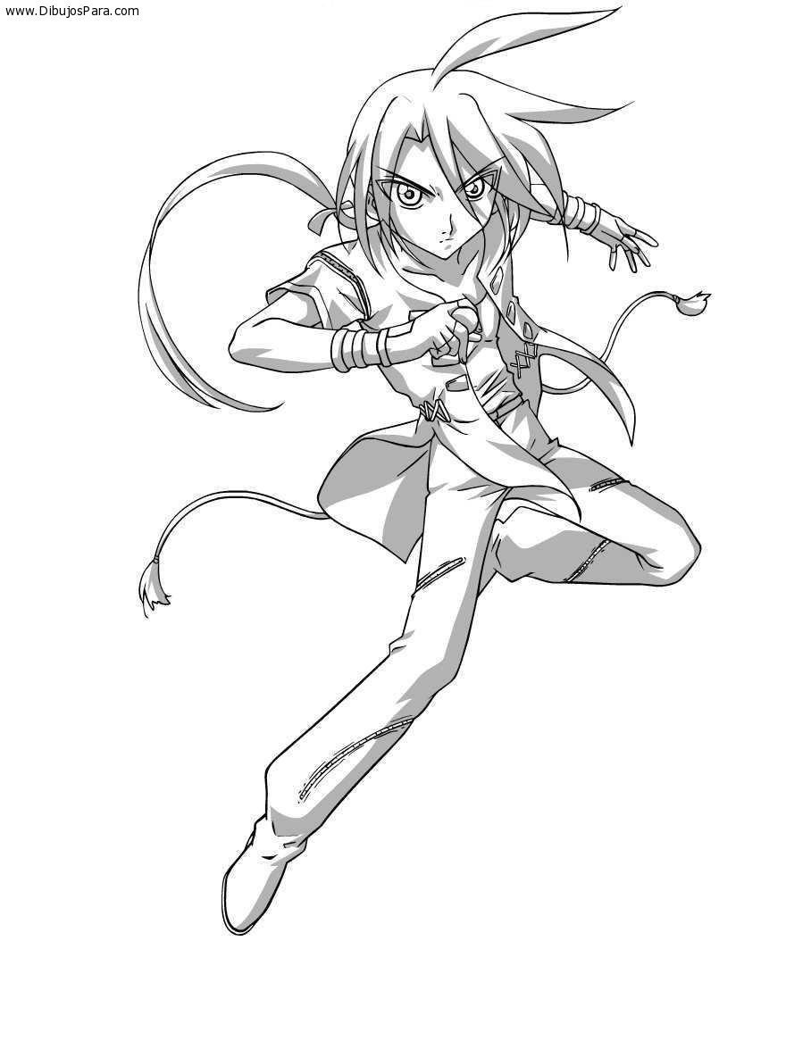 Dibujo de Bakugan para colorear | Dibujos de Bakugan para Pintar ...