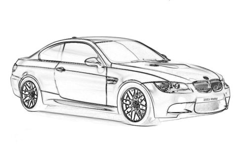 dibujos de autos para imprimir | Dibujos para Colorear