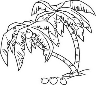 Dibujos de Palmeras  Dibujos de Arboles para Pintar  Dibujos