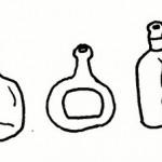 Dibujo De Botellas De Vidrio Dibujos Para Colorear