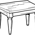 Dibujos De Mesas Dibujos De Mesas Para Pintar Dibujos Para Colorear