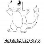 Dibujo De Pokemon Charmander Dibujos Para Colorear
