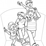 Dibujos De Familias Dibujos De Familias Para Pintar Dibujos Para
