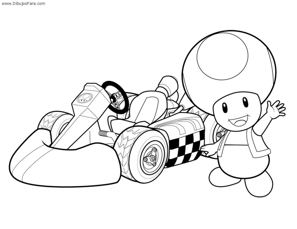 Dibujo de Karting para colorear | Dibujos de Karting para Pintar ...