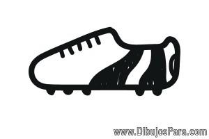 Dibujo de Botín de Futbol