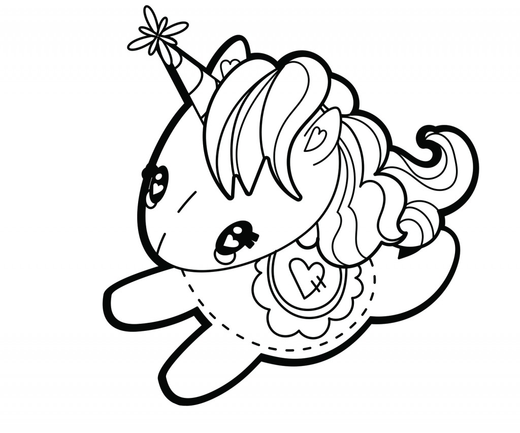 unicornio para colorear - Roho.4senses.co