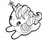 Dibujo de Unicornio Infantil