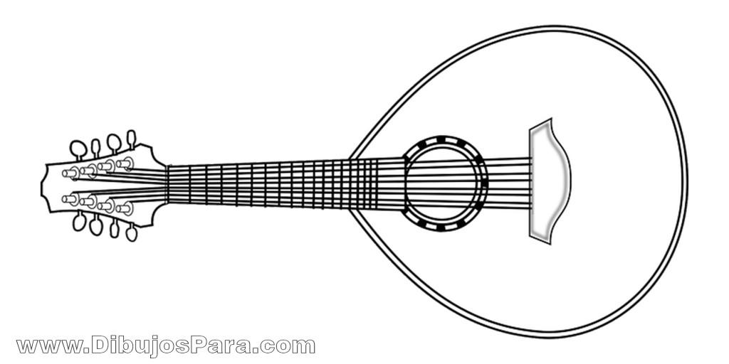 Dibujos De Instrumentos Musicales Para Imprimir Y Colorear: Dibujos De Instrumentos Para Pintar
