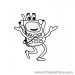 Dibujo de Telefono Infantil