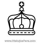 Dibujo de Corona de Rey