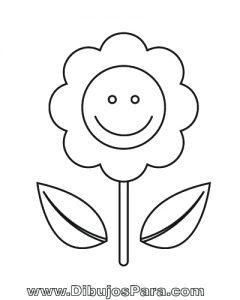 Dibujo de Planta de Girasol